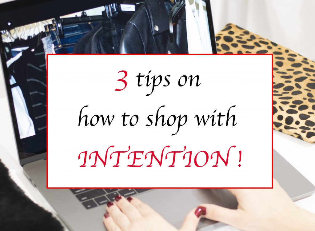 11 of 12 Days of Lipstick & Style…3 tips on how to shop with intention!