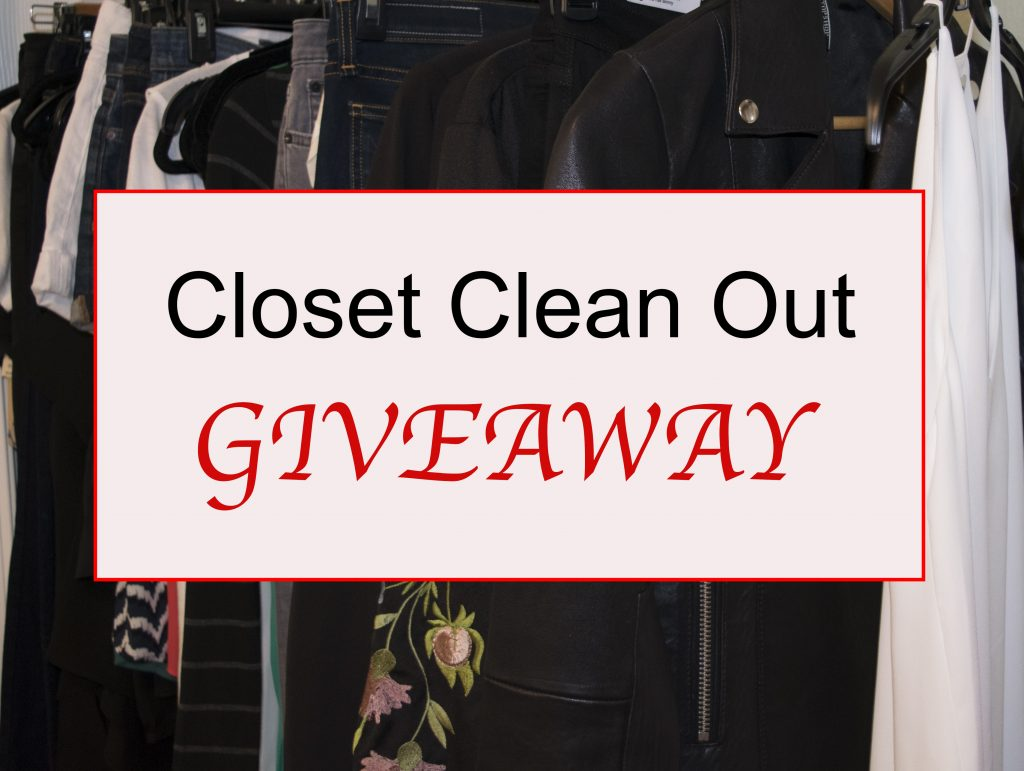 5 of 12 Days of Lipstick & Style…Closet Clean Out GIVEAWAY!