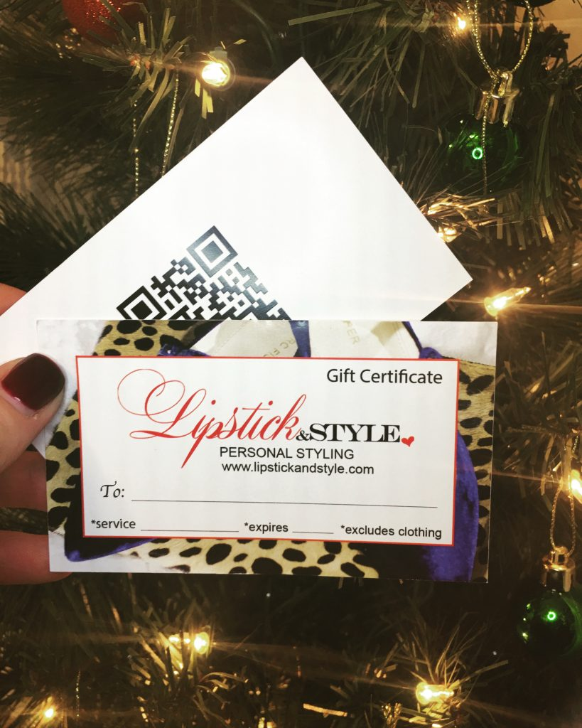 8 of 12 Days of Lipstick & Style…Give the gift of style!